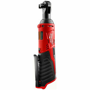 "Milwaukee 2457-20 M12 12V 3/8"" Drive Cordless Ratchet (Tool Only, No Battery)"