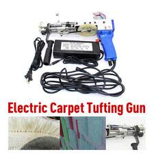 Electric carpet tufting gun cut pile Carpet weaving flocking machines 110-220V