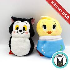 Japan Disney Pote Pote Pinocchio Figaro Cat & Cleo Goldfish Bean Bag Plush Doll
