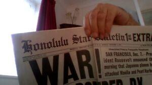 honolulu star 1941 newspaper