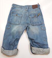 Pantaloncini in Denim da Uomo Burton JEANS W34 di lunghezza