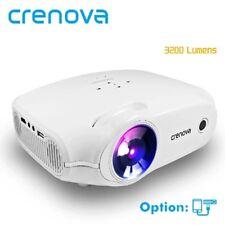 Crenova 2018 NUOVO proiettore a LED per Video Full HD 4K*2K con proiettore VGA HDMI U