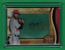 2017 TOPPS TIER ONE BRYCE HARPER AUTO ON CARD CLEAR ONE ACETATE 3/5 NATIONALS
