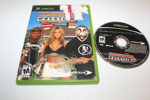 Backyard Wrestling 2: There Goes the Neighborhood (Microsoft Xbox, 2004) NTSC