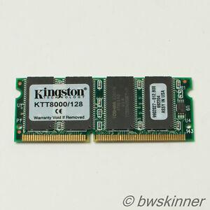 128MB PC-66 66MHz CL2 Kingston RAM Module. KTT8000 /128.