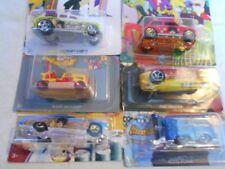 Hot Wheels The Beatles Yellow Submarine 50th Anniversary - Set of 6 Cars