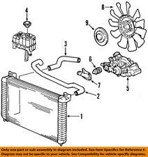 Hummer GM OEM 03-07 H2 Radiator Coolant-Lower Hose 15057982