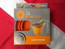 Flexware bowl 2.0 survival camping emergency disaster equipment UST GIFT orange