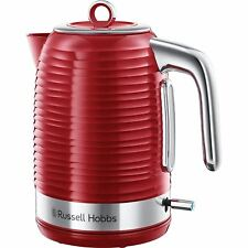 Russell Hobbs 24360 Inspire Electric Rapid Boil Jug Kettle, 1.7 L - Red & Chrome