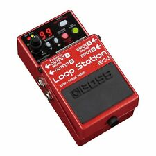 BOSS RC-3 Loop Station Guitar Effects Pedal - Free 6in Fender Patch Cable