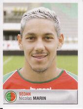 387 NICOLAS MARIN CS.SEDAN PLYMOUTH ARGYLE.FC STICKER FOOT 2007 PANINI