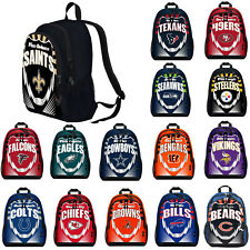 New NFL PICK YOUR TEAM Boy / Girl / Kids School Backpack School Supplies