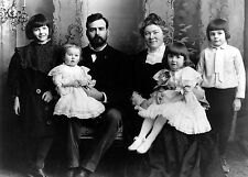 1905 Portrait - Ernest Hemingway as a child with His Parents and Family
