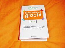 g. dossena enciclopedia dei giochi a-l, mondadori 2009