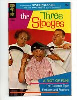 "THE THREE STOOGES #45  VF 8.0  ""THE TUCKERED TIGER"""