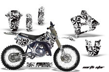 Yamaha YZ250 Graphic Kit Wrap + Number Plate Decals Stickers 1991-1992 NORTHSTAR