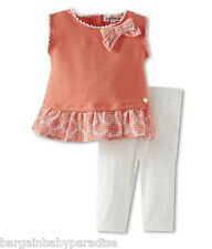 NWT Juicy Couture 2 Pc Set Top & Leggings Baby Infant Girls Outfit 18-24 M $78