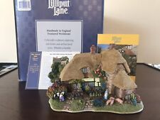 "lilliput lane ""The Good Life� With Box&Deed 1999/2000 Special"