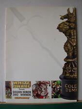 Warhammer 40k Fantasy White Dwarf Golden Demon Winners 2002 programme Rare OOP