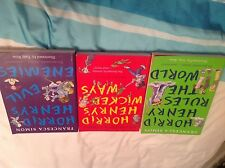 Horrid Henry Rules The World, wicked ways and evil enemies books - 3 books