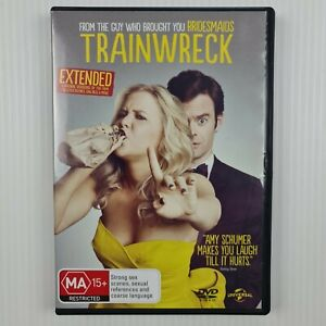 Trainwreck DVD - Amy Schumer, Bill Hader, Brie Larson - R2,4 - TRACKED POST