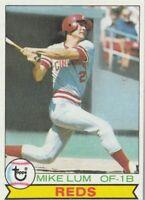 FREE SHIPPING-MINT-1979 Topps #556 Mike Lum Cincinnati Reds