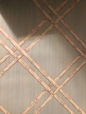 New listing Pottery Barn Kids / Bamboo Lattice Peel & Stick Wall Mural 6ft. Square Wallpaper