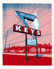 The Black Keys 5/9/2012 Poster Vancouver, BC Canada S/N #/262 Rare!!!
