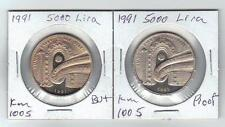 Turkey Cumhuriyeti Hatira Parasi -1991--5000.Lira Yunus Emre Sevgi Yili 2.Pcs.