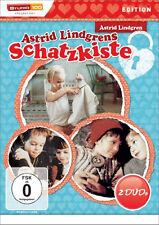 § 2 DVDs * ASTRID LINDGREN : ASTRID LINDGRENS SCHATZKISTE # NEU OVP §