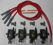 AEM Smart coil IGTB high output & MSD spark plug wires Mazda 13B rotary kit