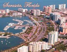 Florida - SARASOTA - Travel Souvenir Flexible Fridge Magnet