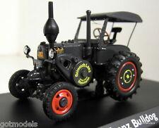Schuco 1/43 Scale 02645 Lanz Bulldog with roof dark grey diecast model tractor