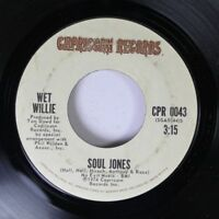Soul 45 Soul Jones - Wet Willie / Keep On Smilin' On Capricorn Records