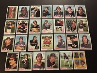 1978 Topps CLEVELAND INDIANS Complete TEAM Set ECKERSLEY Jeff TORBORG Lowenstein