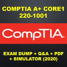 CompTIA-A+ Core 1 220-1001 Exam Q&A PDF+SIM (2020)