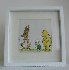 Winnie The Pooh and Friends - Handmade Nursery Picture