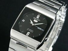 Seiko 5 Automatic Dress Watch Unisex Square Japan Made SNY005J1 UK Seller