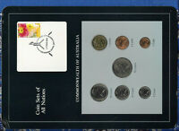 Coin Sets of All Nations Australia 1984-1985 UNC $1 1985 15MAR1994