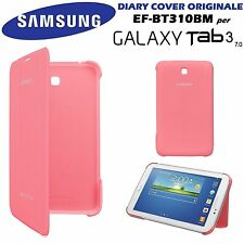 CUSTODIA COVER ORIGINALE SAMSUNG EF-BT210BP ROSA GALAXY TAB 3 7.0 T210 USATO