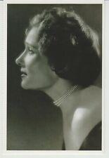 Russian SINGER Ludmila Lopato, Paris, 1950  Reprint Photo Postcard