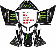 SKI DOO SNOWMOBILE WRAP KIT REV,XP, XR,XS,XM, MXZ 03-16 MEV1  DECAL STICKER