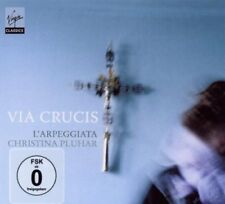 Via Crucis: L'Arpeggiata CD+DVD Deluxe Edition by Christina Pluhar GOOD