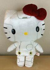 """Sanrio 16"""" Kitty Robot Plush RK00, 2013 Hello Kitty (White, Black, and Silver)"""