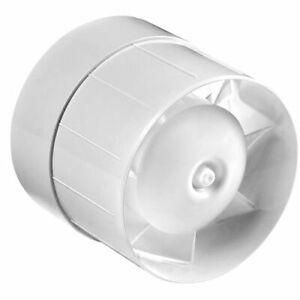 Lüfter Rohrventilator Badlüftermit Kugellager Rohrlüfter Turbo Ø 100 mm WKA100