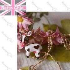 BETSEY JOHNSON animal COW jewellery BNWT ENAMEL bracelet/earrings/necklace/ring