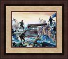 Mort Kunstler Civil War Print The Gunner and the Colony Custom Gallery Framed