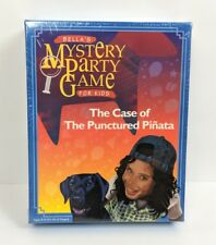 Vintage 1999 Bella's Mystery Party Game Case of the Punctured Pinata New Sealed