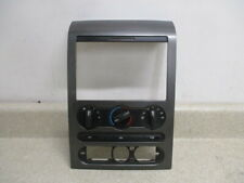 04 to 08 F150 Center Bezel With Air AC Heater Climate Control, Heated Rear OEM