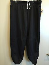 Base ball Baseball Pants Youth boys Black Large Polyester Pullup NEW